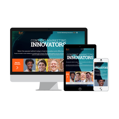 Content Marketing Innovators eBook