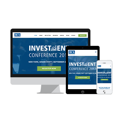 Euromoney Investment Conference Event Landing Page