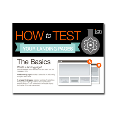 How to Test Your Landing Pages -- Infographic