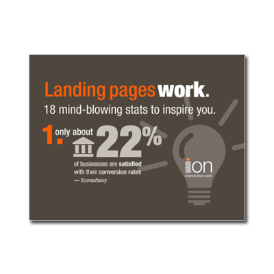 Landing Pages Work! 18 Mind-Blowing Stats -- Infographic