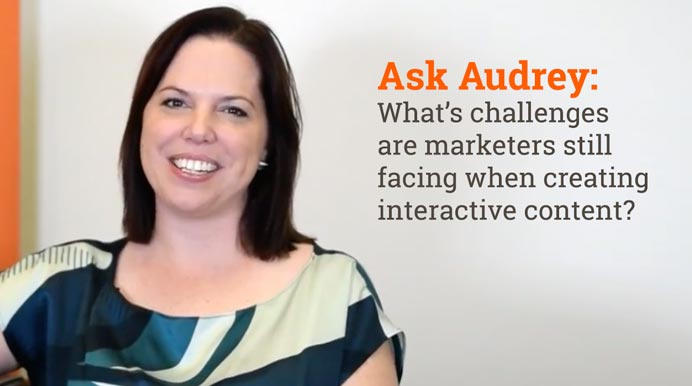 What Challenges Are Marketers Still Facing When Creating  Interactive Content?