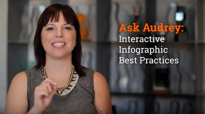 Ask Audrey: Interactive Infographic Best Practices