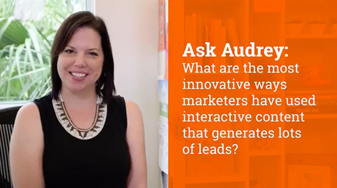 What are the most innovative ways marketers have used interactive content that generates lots of leads?