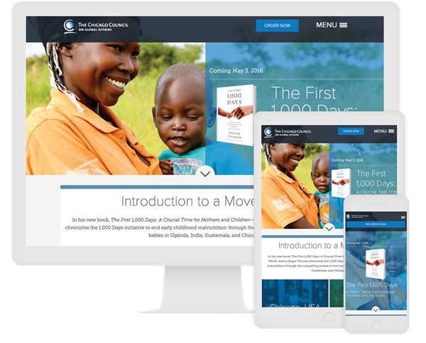 The Chicago Council Interactive Content eBook Example