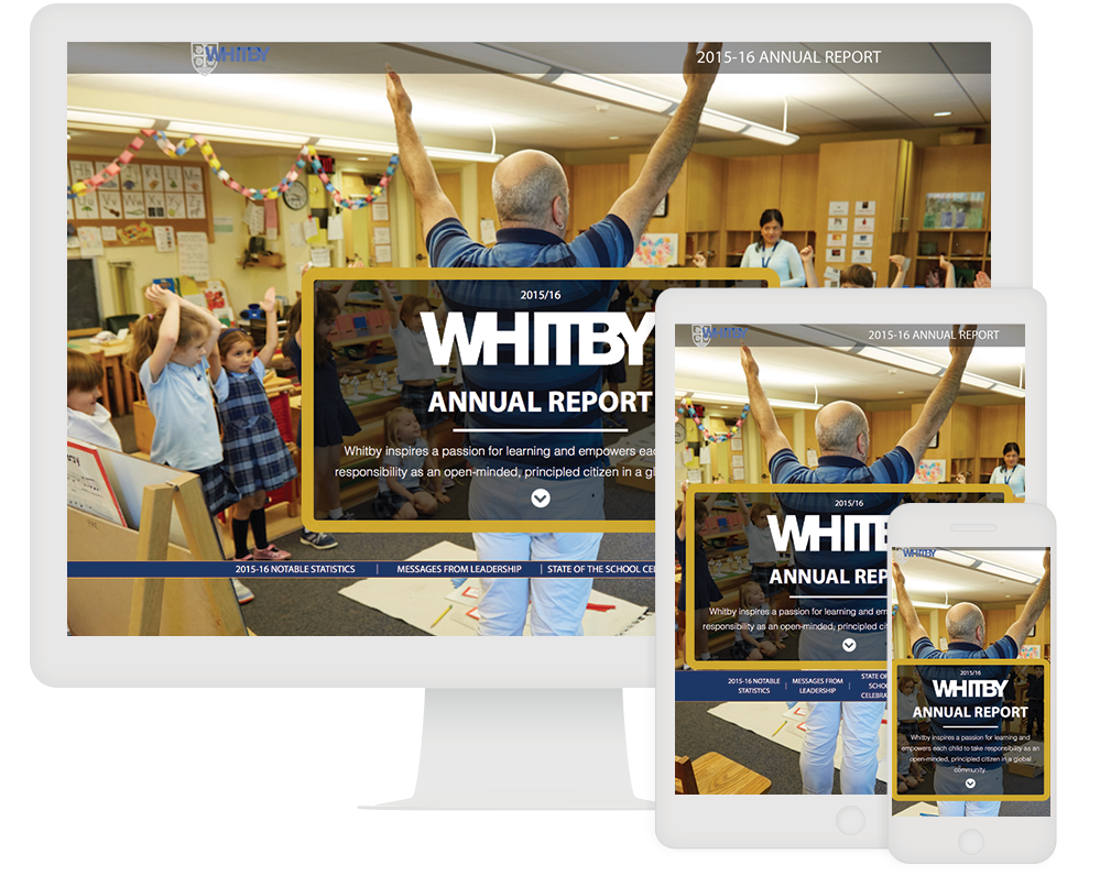 ion interactive - Whitby School Annual Report