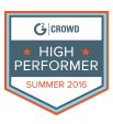 G2 Crowd High Performer Summer